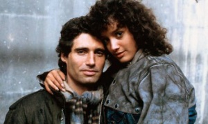 Michael Nouri and Jennifer Beals from Flashdance