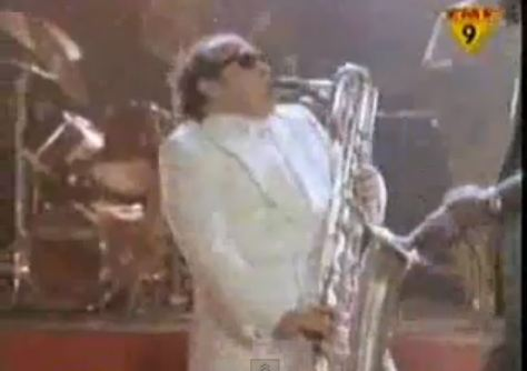 I don't often play the saxophone, but when I do, I wear sunglasses.
