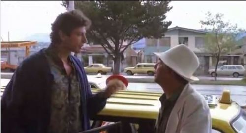 Calling shotgun with Peter Falk Goldblum