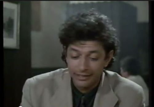 Goldblum has magic hair