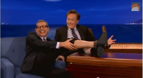 Goldblum post-coital (Conan)