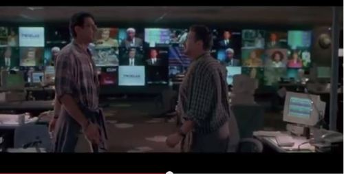 90s Goldblum Ties a Sweater around Goldblum's Flannel